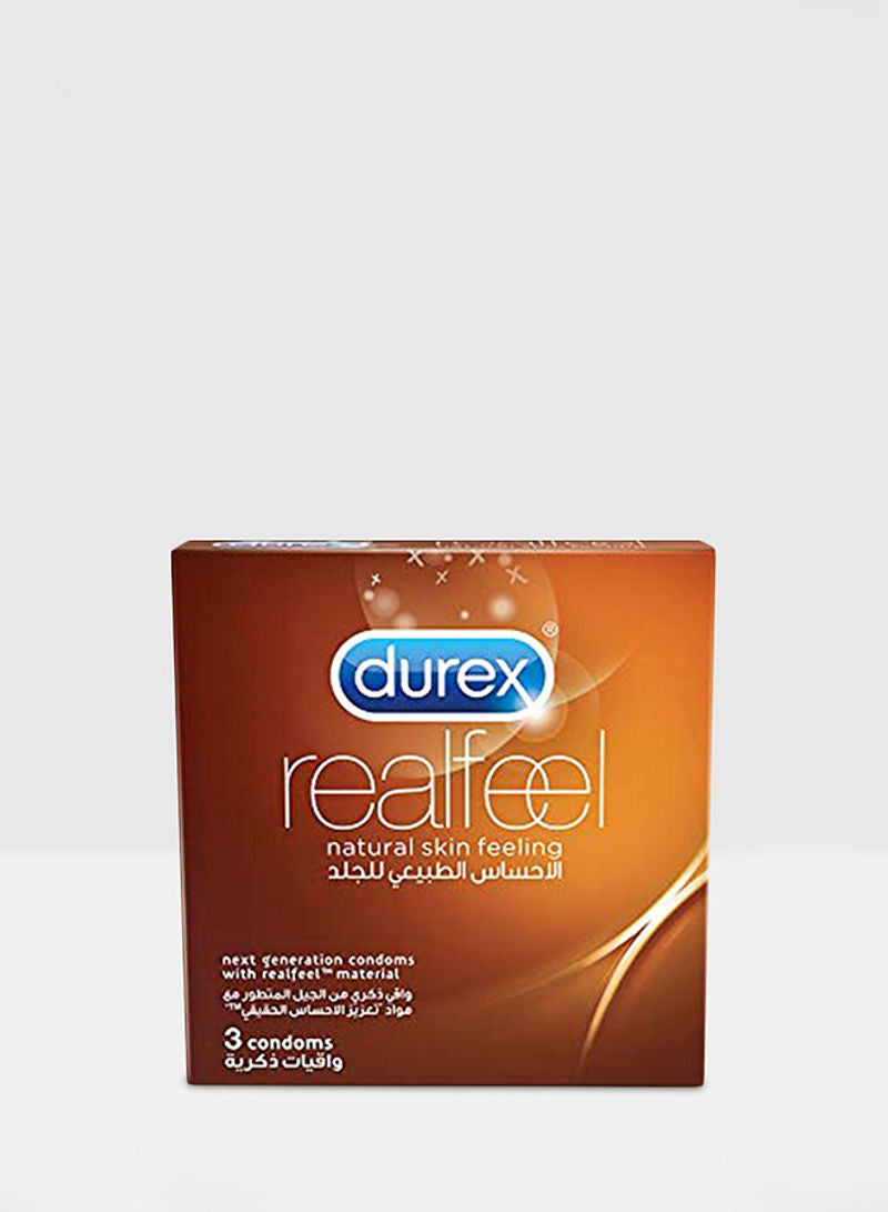 Durex Real Feel Condom Pack of 3