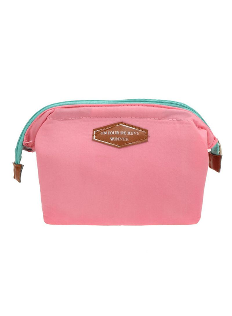 Generic Travel Cosmetic Pouch Pink