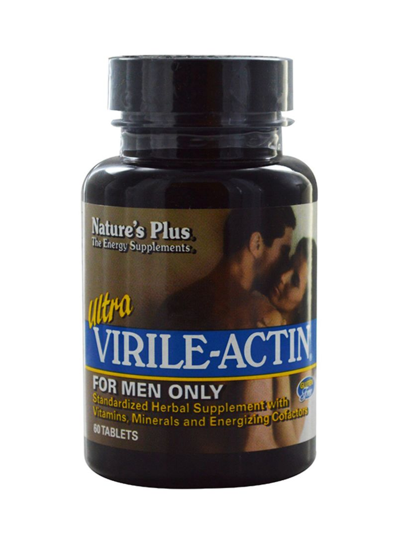 Natures Plus Ultra Virile-Actin Herbal Supplement