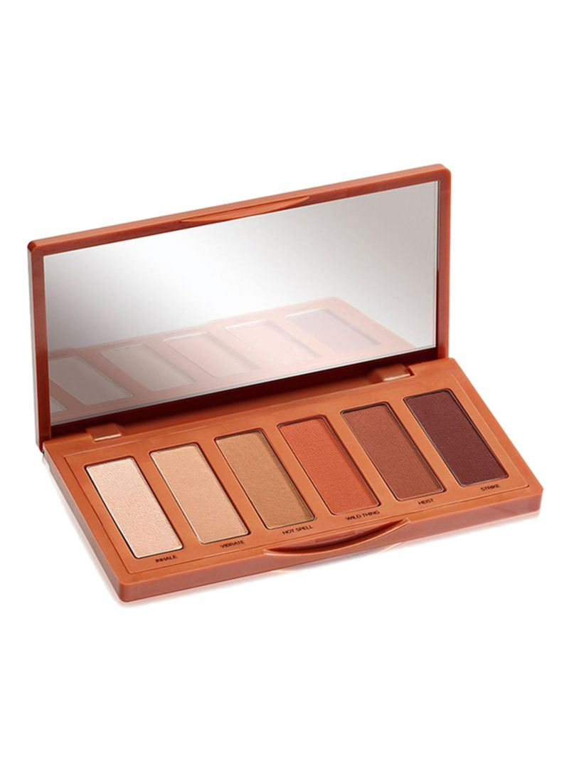 Naked Petite Heat Eyeshadow Palette Multicolour