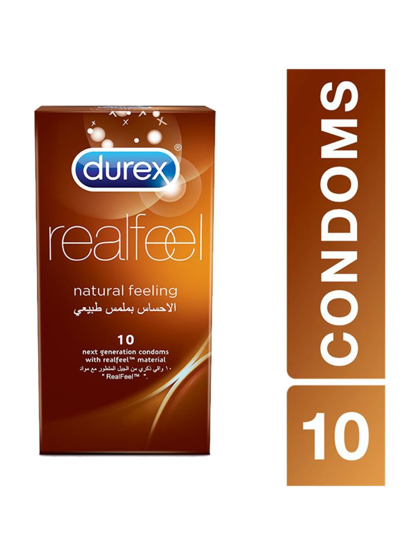 Durex Real Feel Condom Pack of 10