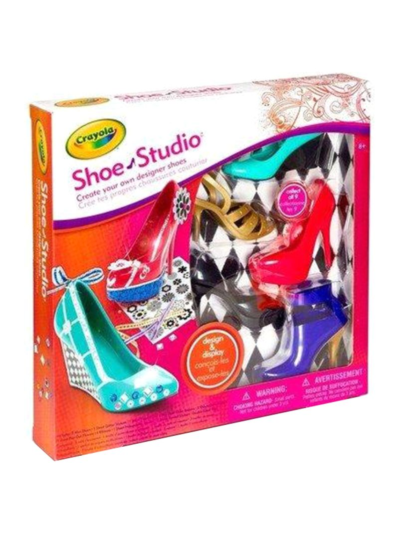 Generic Crayola - Shoe Studio Activity Kit