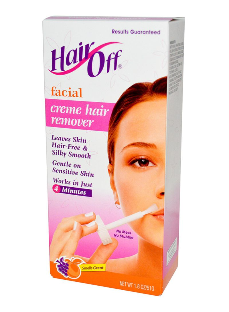 HairOff Facial Hair Remover Cream 51g