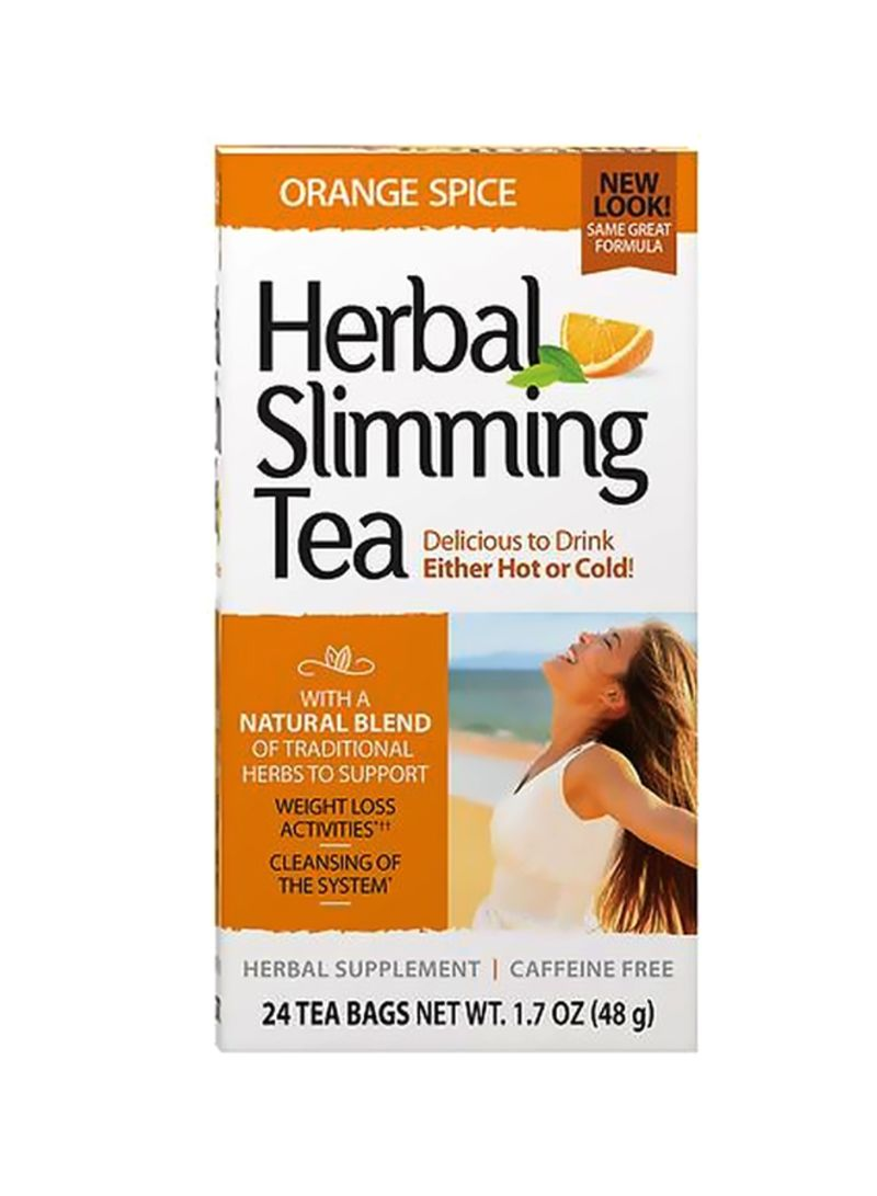 Herbal 24-Piece Herbal Slimming Tea 24xc1.7 ounce New