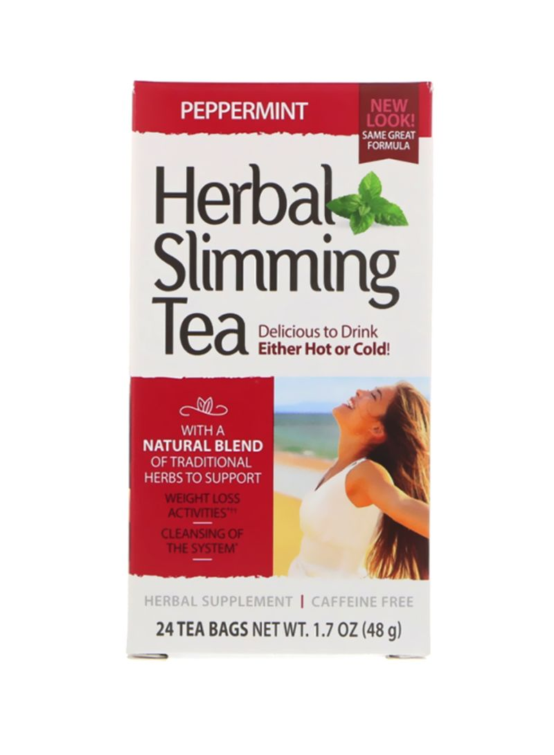 Herbal 24-Piece Herbal Slimming Tea 24x1.7 ounce