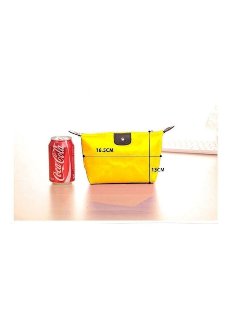 Sienna Korean Dumpling Cosmetic Bag Yellow