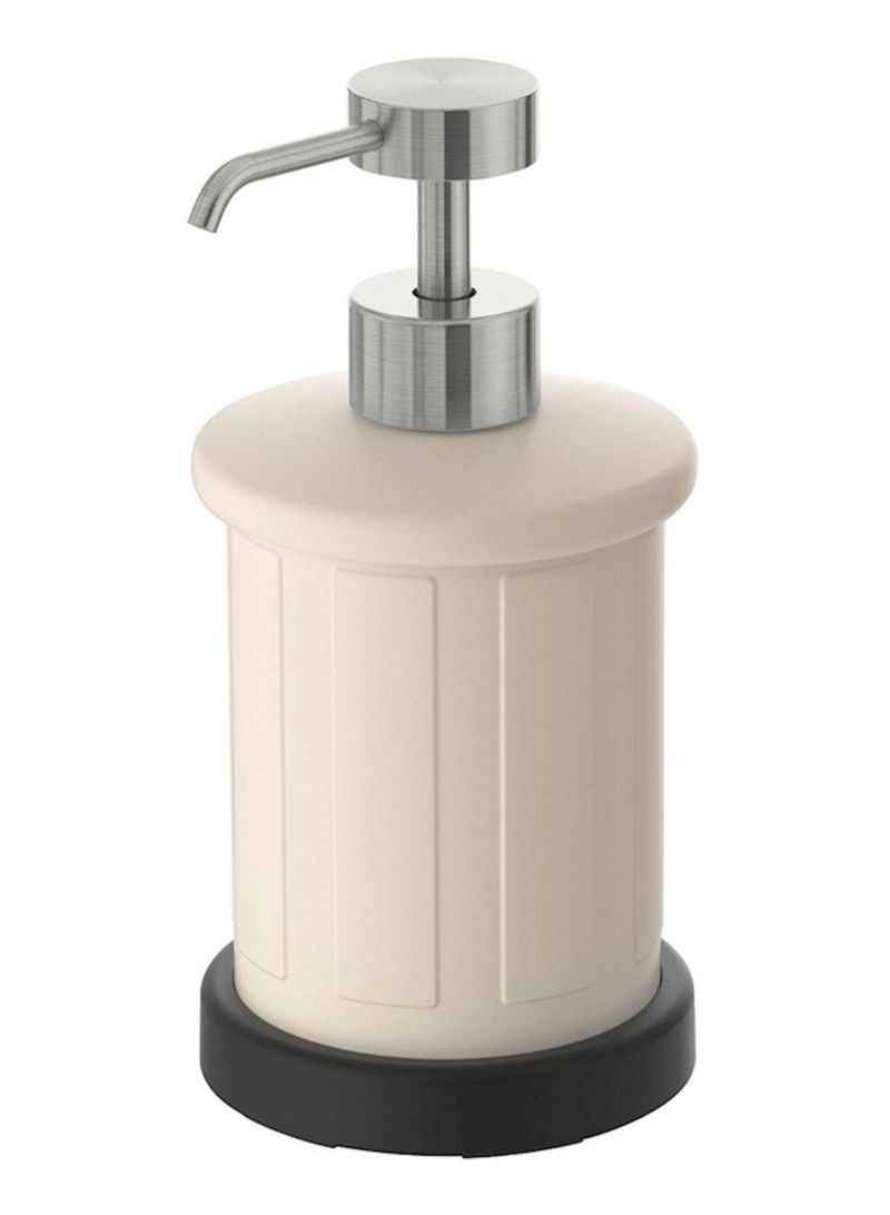 Soap Dispenser Beige/Silver