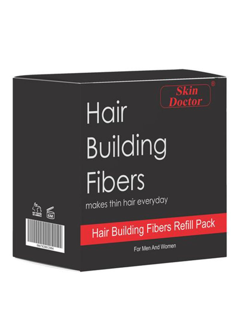 Skin Doctor Hair Building Fiber Refill Pack Black 100g