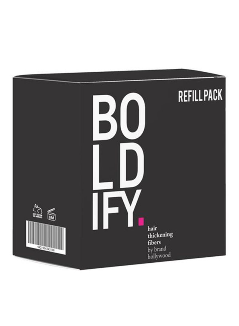 Boldify Hair Building Fiber Refill Pack Dark Brown 10g