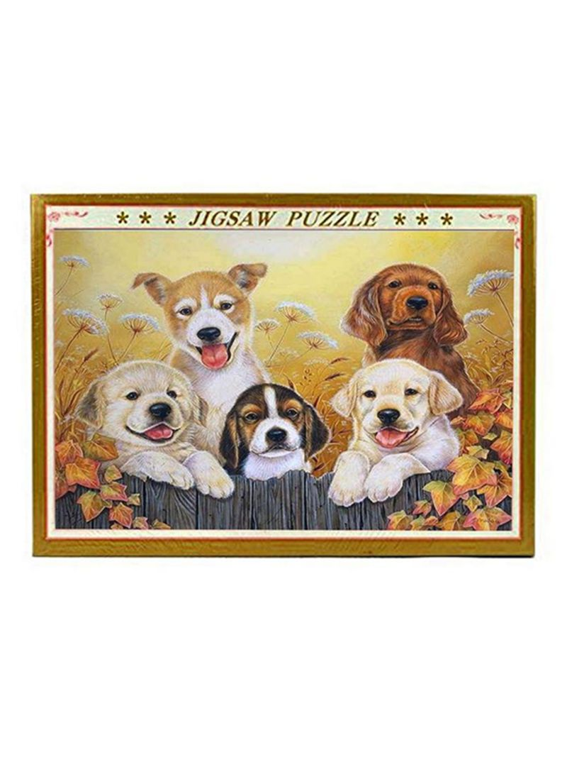 Generic 300-Piece Dog Jigsaw Puzzle Set