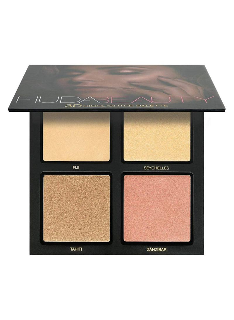 3D Highlighter Palette Golden Sands