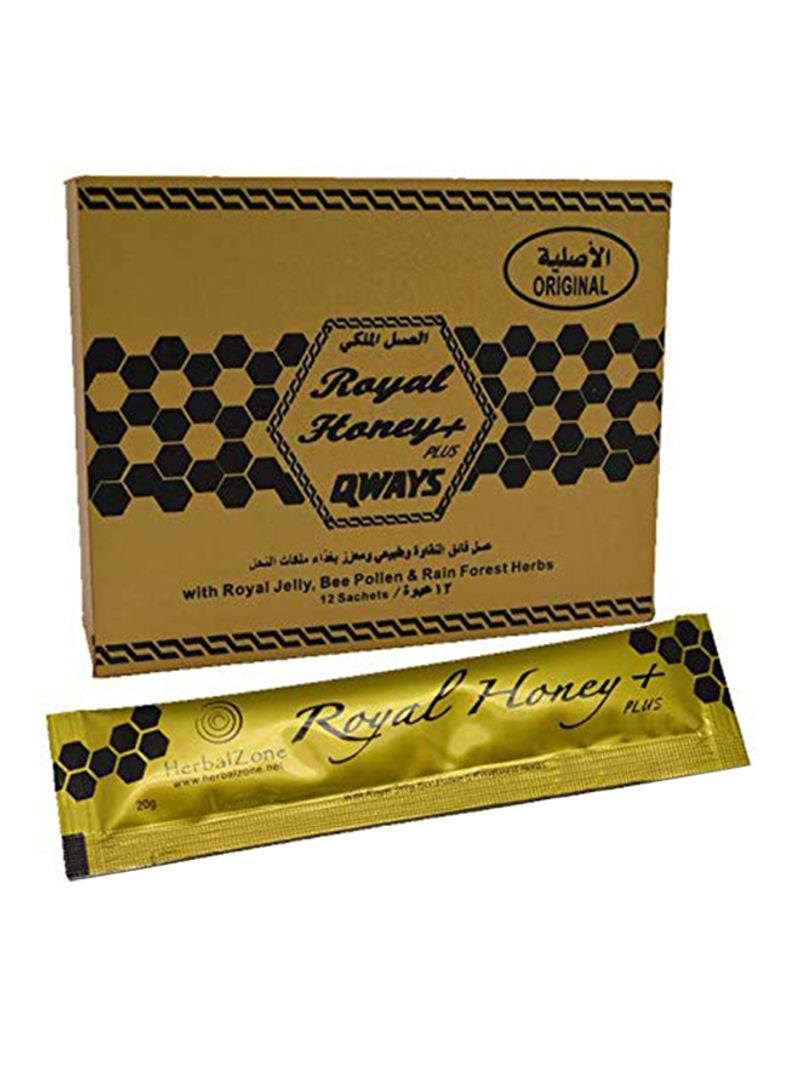 Herbal Royal Honey Gold Plus - 12 Sachets