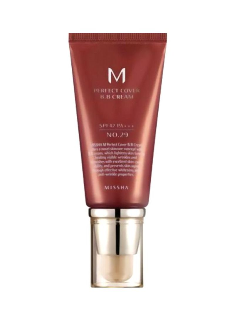 M Perfect Cover BB Cream SPF42/PA+++ Caramel Beige