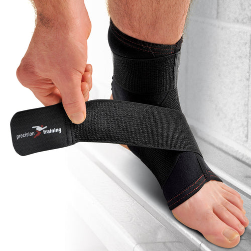 Precision Neoprene Ankle with Strap Support