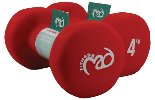 Yoga-Mad Neoprene Dumbbells