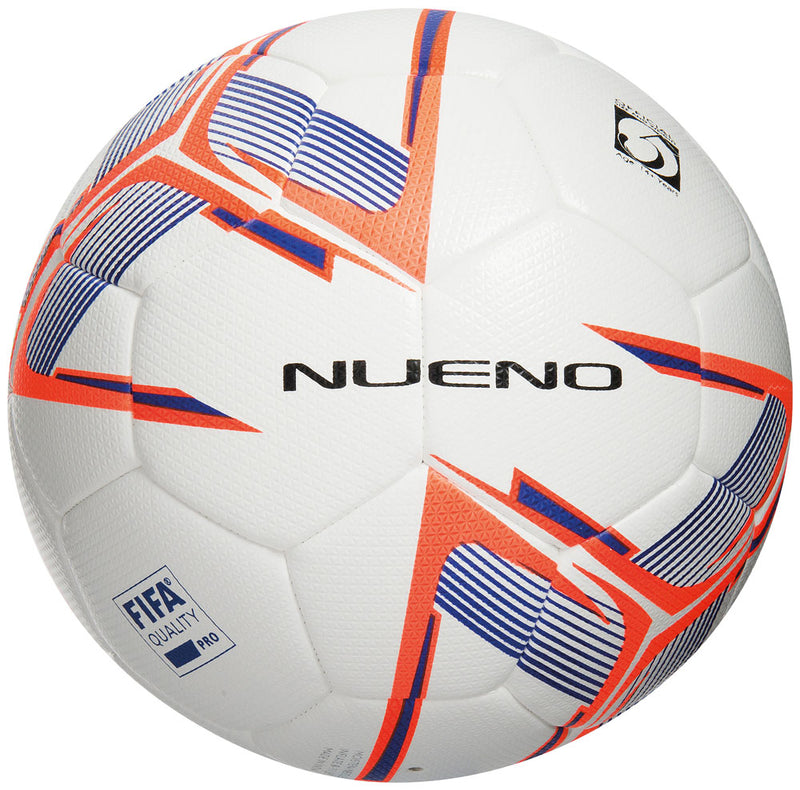 Precision Nueno Match Football White/Deep Blue/Fluo Orange