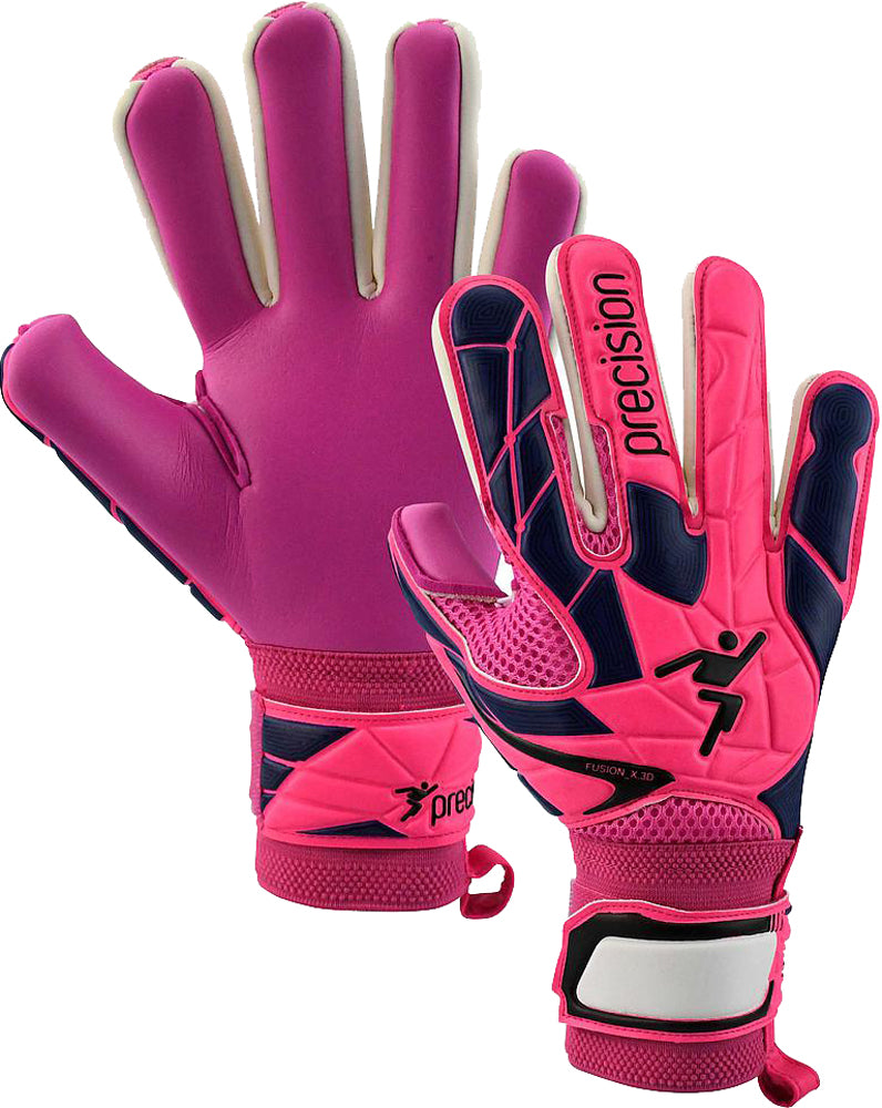Precision Womens Fusion_X.3D Negative NB Pink Football Goal Keeper Gloves