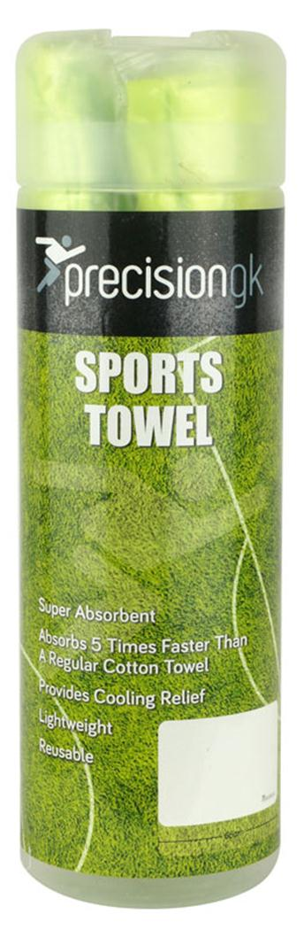 Precision Football GK Sports Towel Green