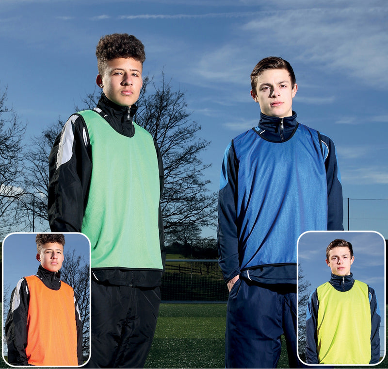 Precision Reversible Mesh Training Football Bibs