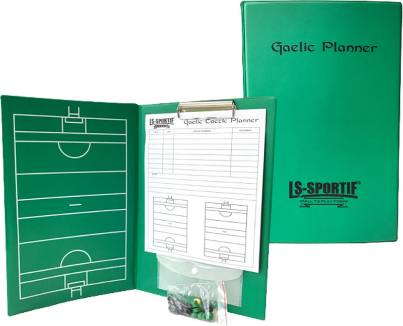 LS Sportif Football Sports A4 GAA Tactic Folder