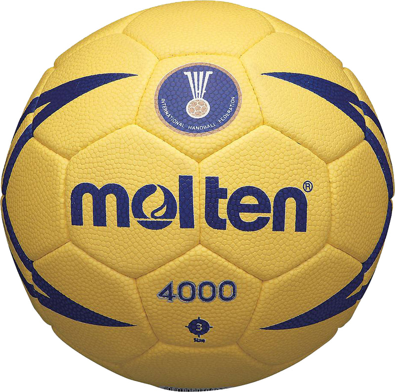 Molten 4000 IHF Match Handball Yellow/Blue
