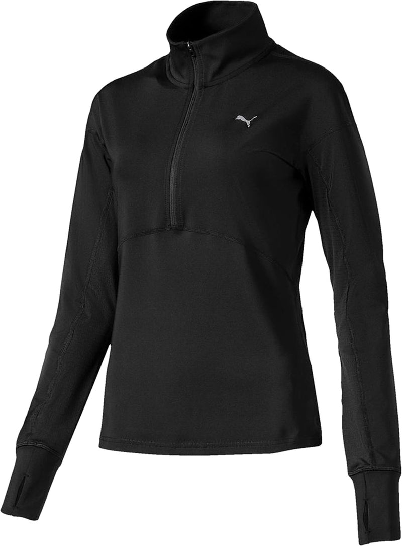 Puma Ignite Ladies 1/4 Zip Training Top Black
