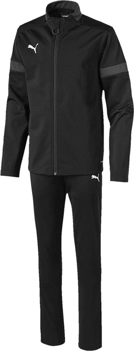 Puma Junior ftblPLAY Tracksuit Asphalt-Black