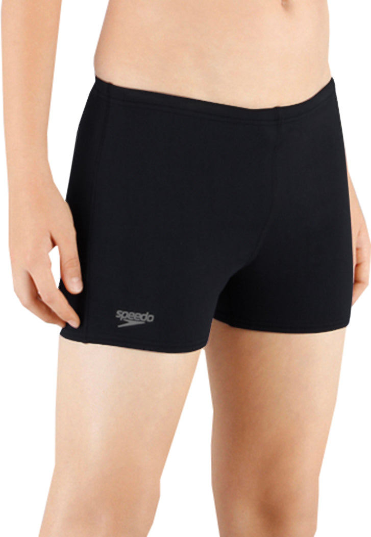 Speedo Boys Essential Endurance+ Aquashort Swimming Shorts Black