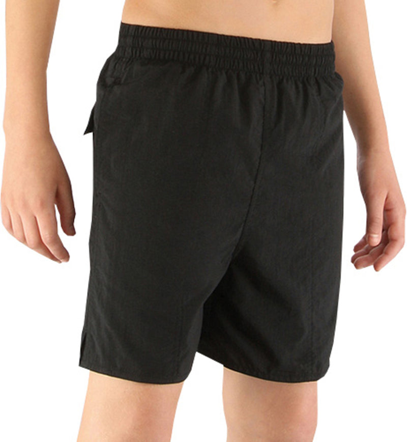 Speedo 15 Boys Solid Leisure Swimming Shorts