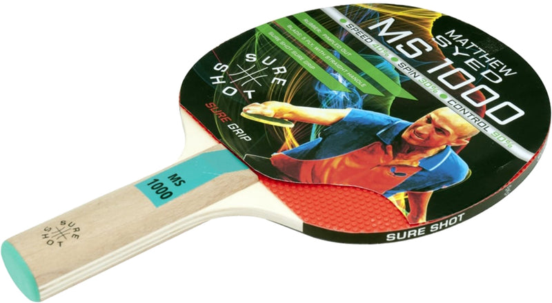 Sure Shot Matthew Syed 1000 Table Tennis Bat