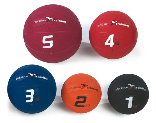 Precision Exercise & Fitness Rubber Medicine Ball