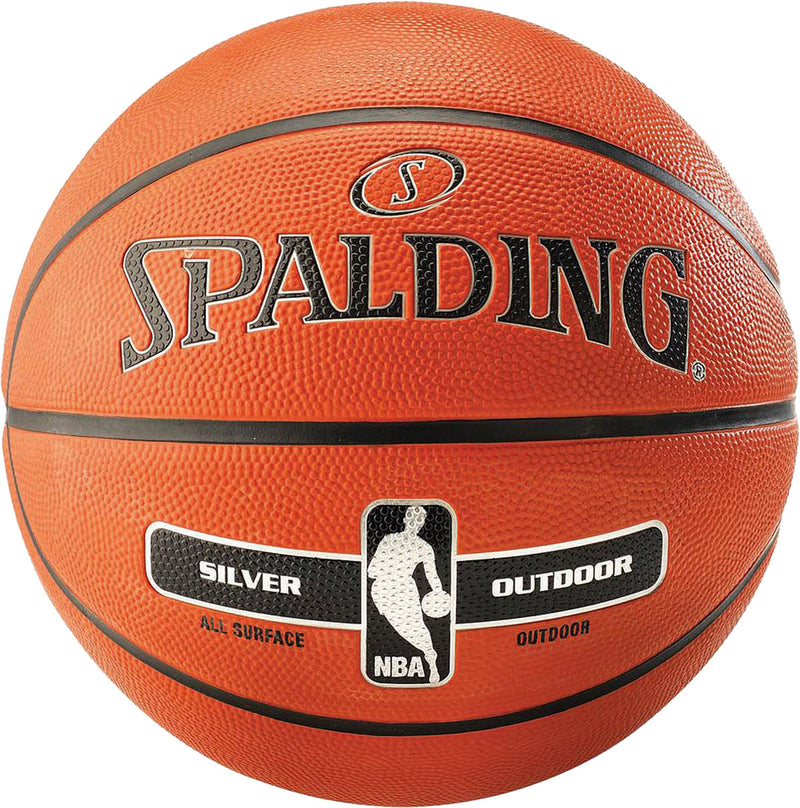 Spalding NBA Silver Outdoor Basketball Tan