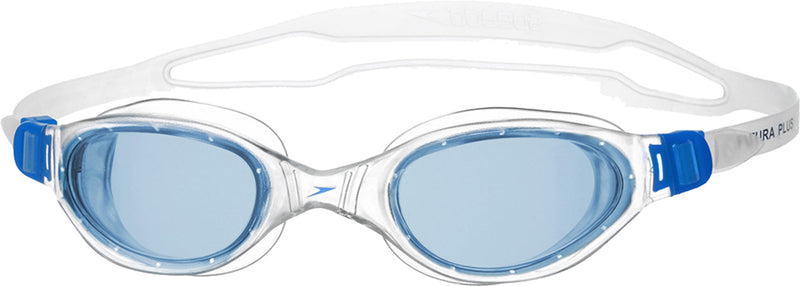 Speedo Futura Plus Swim Goggles Adult Clear/Blue