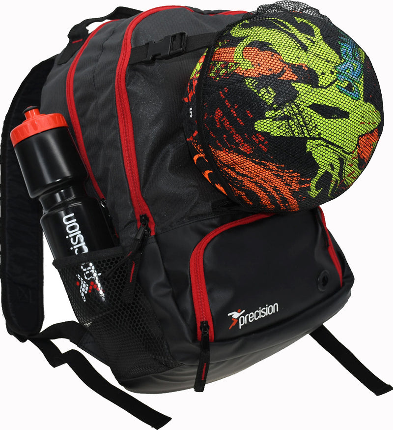 Precision Pro HX Football Sports Back Pack With Ball Holder
