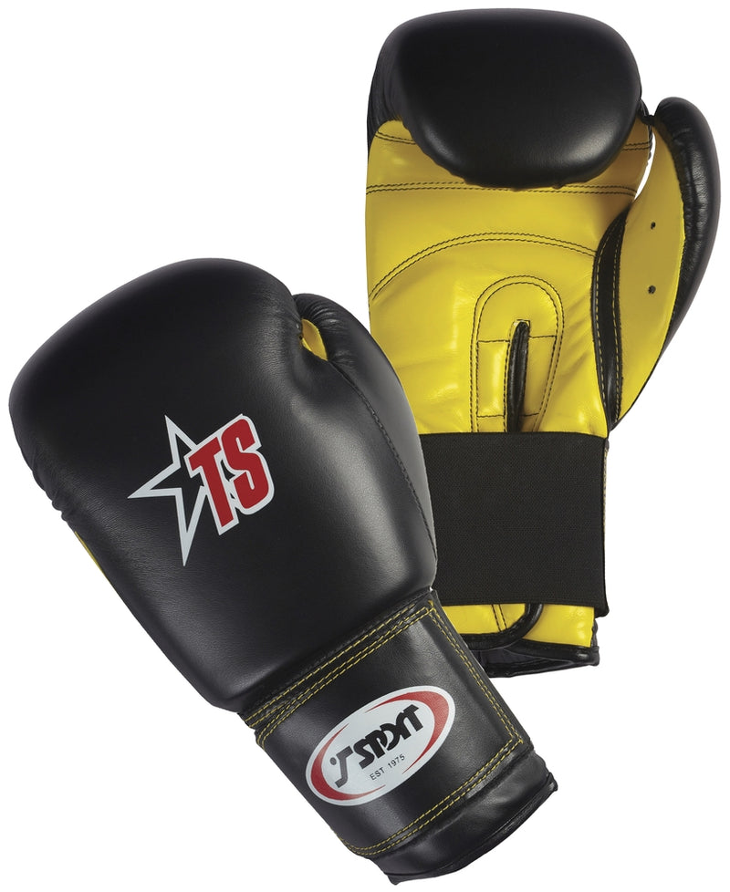 Cimac PU Boxing Gloves Black/White