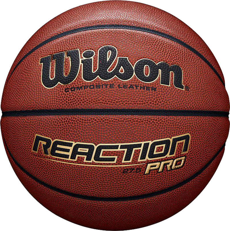 Wilson Reaction Pro Basketball Tan