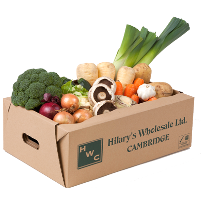 A Fresh Veg Box from Fresh in a Box