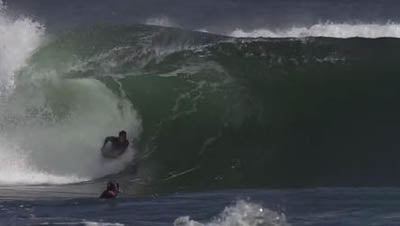 Matias Diaz Bodyboarding at Java for Inverted Bodyboarding