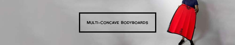 Multi-Concave Bodyboards
