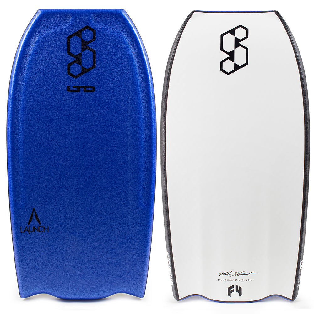Science Launch High Volume Flat Bat Tail PP Bodyboard