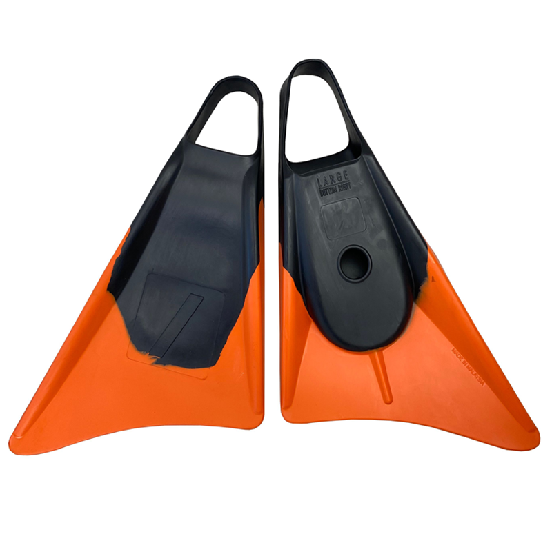 Nife N1 Fins - Black/ Orange