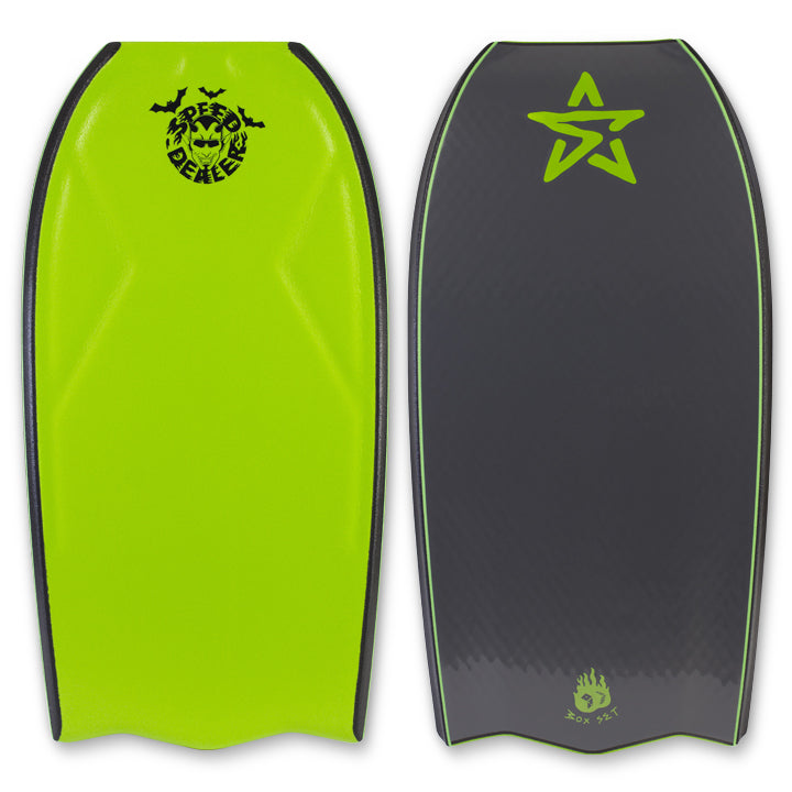 Stealth Speed Dealer 3.0 PP Trax Bat Tail Bodyboard
