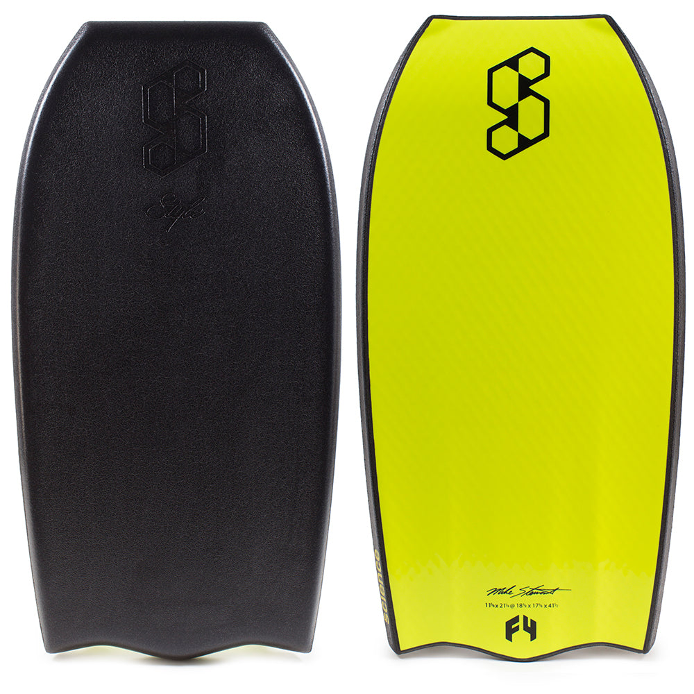 Science Style Delta Bat Tail Quad Vent Bodyboard