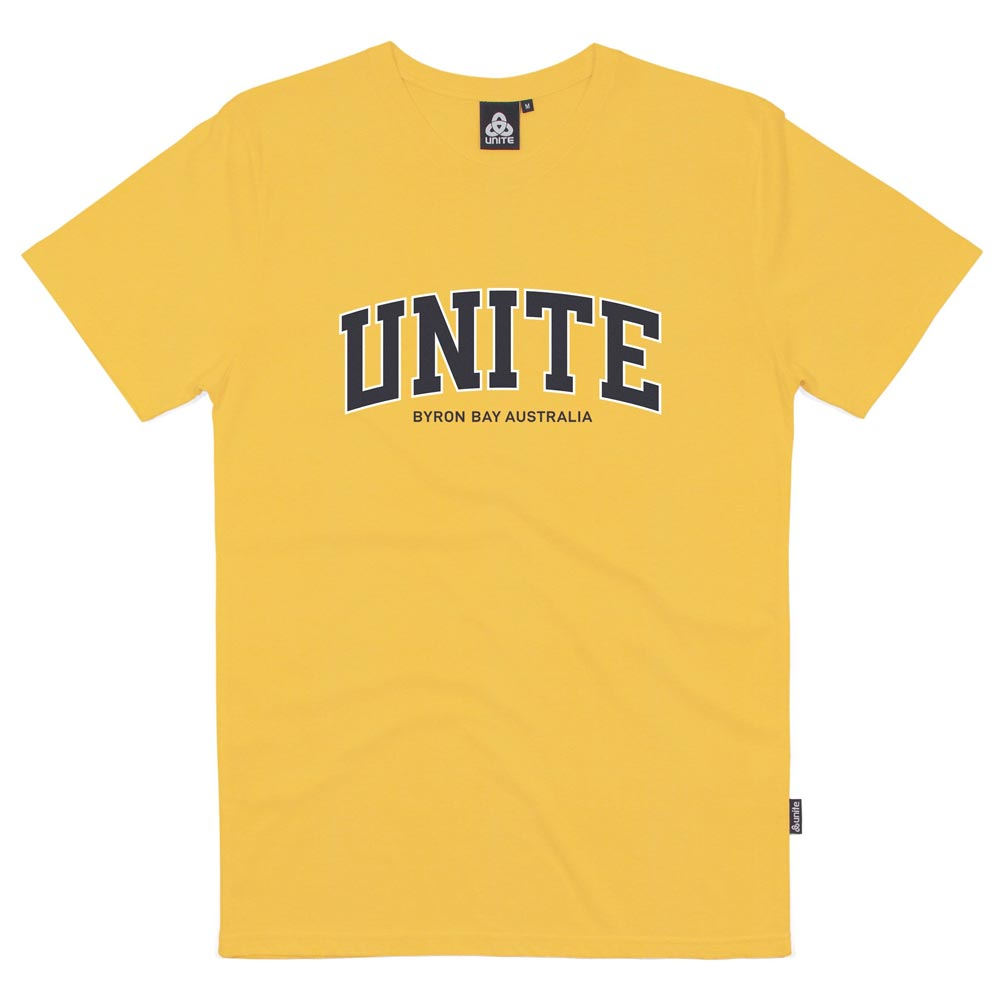 Unite Academy T-Shirt - Yellow