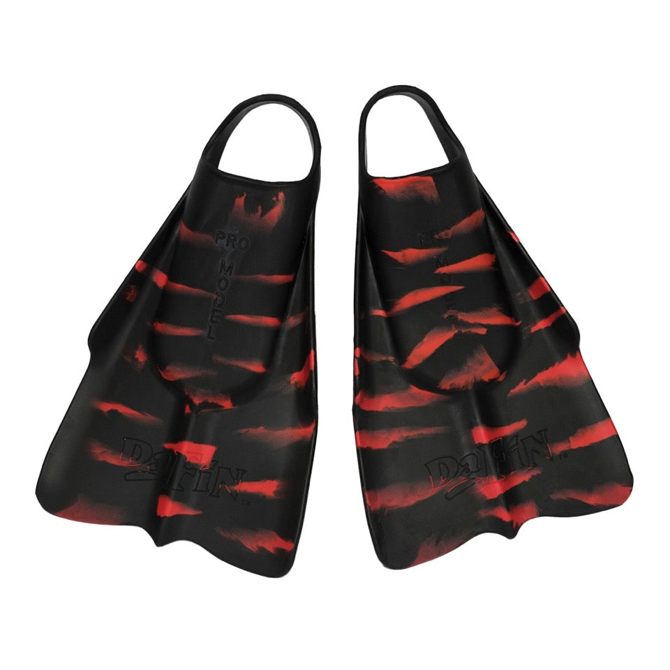 DaFin Original Fins - Zak Noyle RVCA Collab Black/ Red