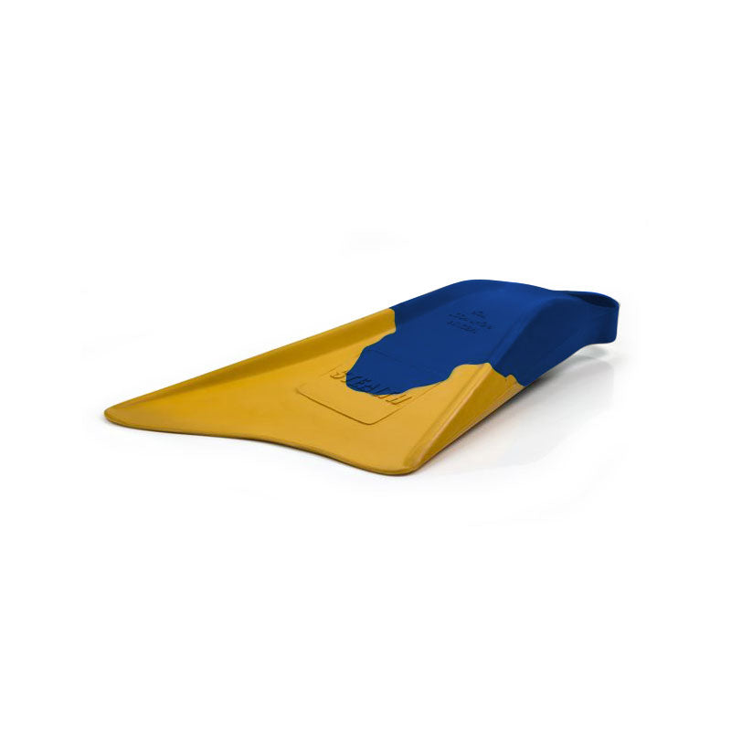 Stealth S1 Fins - Blue/ Sun Gold