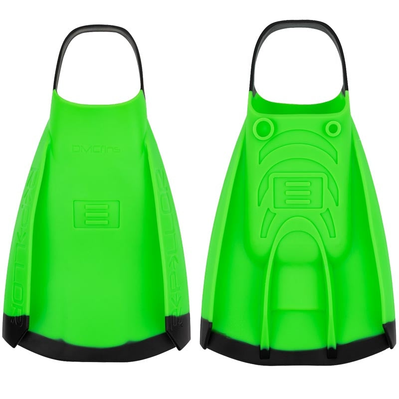 DMC Repellor Fins - Green/ Black