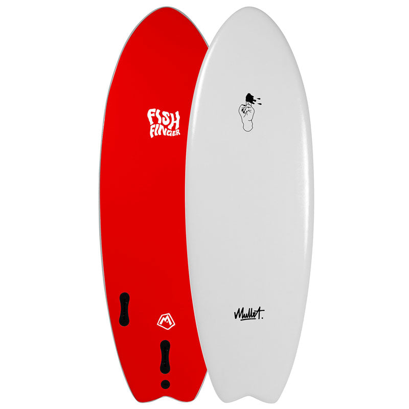 Mullet Fish Finger 5ft 2 Soft Surfboard