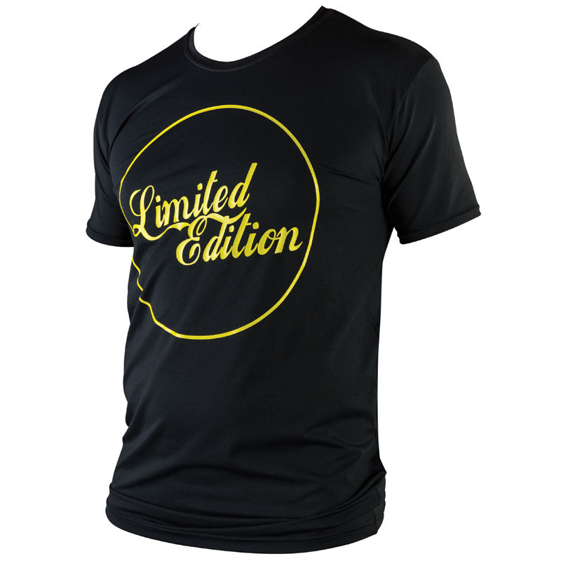 Limited Edition Surf T-Shirt - Black/ Yellow