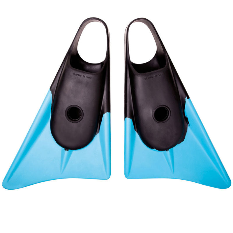 Limited Edition Fins - Black Ice (Black/ Cyan)